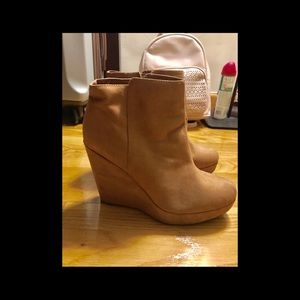 High wedges boots💃🏻
